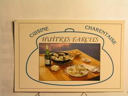 Recettes Charentaises (cuisine) - Huitres Farcies Charentaises - Recettes (cuisine)