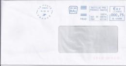 "65 - HAUTES PYRENEES - OBL. NEOPOST NSC ""LA POSTE 41847A/2012"" BDS  (TARBES) - Sellados Mecánicos (Publicitario)"