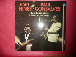 LP33 N°3442 - EARL HINES & PAUL GONSALVES - FR. 11004 - JAZZ & BLUES - Jazz