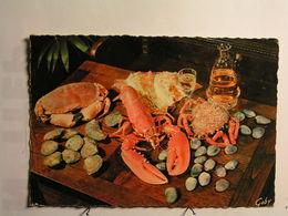 Recettes (cuisine) - Fruits De Mer - Recettes (cuisine)