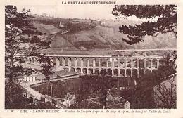 C P A  BRETAGNE 22] Côtes D'Armor > Saint-Brieuc  VIADUC - Saint-Brieuc