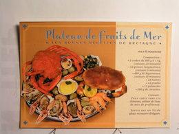Recettes (cuisine) - Le Plateau De Fruits De Mer - Recettes (cuisine)