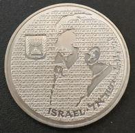 ISRAEL - 10 SHEQALIM 1984 - Theodor Herzl - KM 137 - Israel