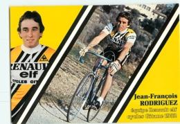 Jean François RODRIGUEZ . 2 Scans . Cyclisme. Renault Elf Gitane 1982 - Wielrennen