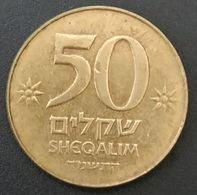 ISRAEL - 50 SHEQALIM 1984 - KM 139 - Israel