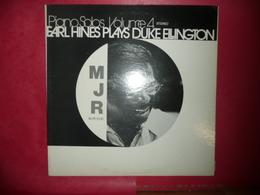 LP33 N°3444 - EARL HINES - MJR 8132 - JAZZ & BLUES - Jazz
