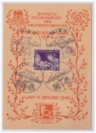 DT- Reich (001068) Propagandakarte, Tag Der Briefmarke 1942, Einheitsorganisation Der Deutschen Sammler, Blanco Gest - Storia Postale