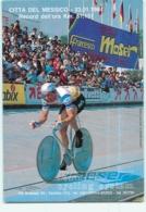 Francesco MOSER, Messico 1984 . 2 Scans . Cyclisme. - Cycling