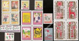 Yugoslavia 1991 Complete Surcharge Stamps MNH Michel #192/211 - Portomarken