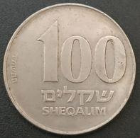 ISRAEL - 100 SHEQALIM 1984 - KM 143 - Israel