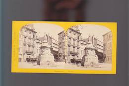 PS- Photo Stéréo Circa1880 / Photographe E.Neurdein / Rouen, La Croix De Pierre - Stereoscopic