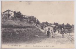 AIX-LES-BAINS - Le Revard Gare Terminus Et Les Hôtels Train LL 106 - Aix Les Bains