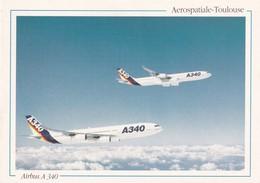 Avion, Airbus A 340 - 1946-....: Ere Moderne