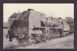CPA Locomotive Chemin De Fer Train Non Circulé Type Fleury éditeur HMP 554 - Trains