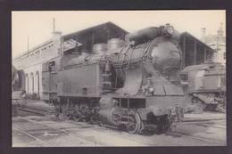 CPA Locomotive Chemin De Fer Train Non Circulé Type Fleury éditeur HMP 1423 Clermont Ferrand - Trains