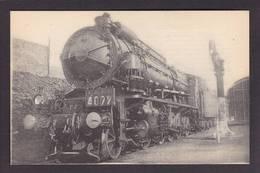 CPA Locomotive Chemin De Fer Train Non Circulé Type Fleury éditeur HMP 1206 Valenciennes - Trains
