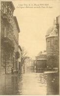 Liège ; Crue De La Meuse 1925-1926. La Légion Nationale Ravitaille Place St - Jean - Non Voyagé. (J. Maas - Liège) - Liege