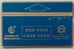 BERMUDA - Landis & Gyr - Cable & Wireless - 309A - 40 Units - Mint - Bermude