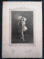 Photo Originale. Photo Midget. Paris. Jeune Danseuse. - Persone Anonimi