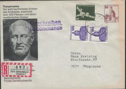 Theophrastos Von Eresos, Deutsch Auch Theophrast, War Ein Griechischer Philosoph Und Naturforscher - R-Brief - [7] Federal Republic