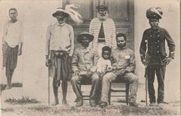 COLONIES - NOUVELLE CALEDONIE - CP A DESTINATION L'AUSTRALIE - Nuova Caledonia