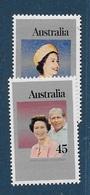 AUSTRALIE N°612-613** - 1966-79 Elizabeth II