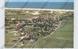 2278 NORDDORF / Amrum, Luftaufnahme, Ort Und Kniepsand - Nordfriesland