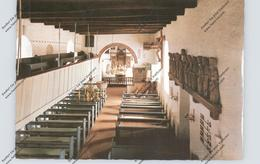 2278 NEBEL/ Amrum, St.Clemens Kirche, Innenansicht - Nordfriesland