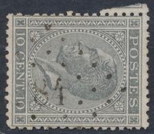 """émission 1865 - N°17 Obl Pt 84 """"Comblain - Au - Pont"""" - 1865-1866 Profil Gauche"""