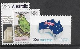 AUSTRALIE N°703-721-726 ** - 1966-79 Elizabeth II