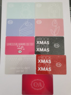 Lot 9 C&A Giftcards Switzerland - Cartes Cadeaux