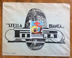 GOMME STELLA BIANCA PIRELLI - BUSTA PUBBLICITARIA CONCESSIONARIA FIAT DI  ARTURO CHIERICI IMOLA - 1900-44 Victor Emmanuel III