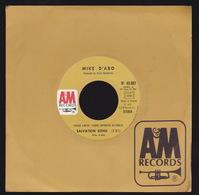 MIKE D'ABO - SP - 45T - Disque Vinyle - Salvation Song - PROMO - 45661 - Autres - Musique Anglaise