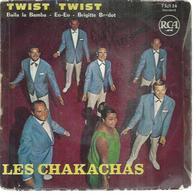 """45 Tours EP -  LES CHAKACHAS   - RCA 75136  """" TWIST TWIST """" + 3 - Autres - Musique Anglaise"""