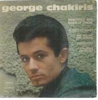 """45 Tours EP -  GEORGES CHAKIRIS   - CAPITOL 1813  """" A TASTE OF HONEY """" + 3  ( Avec Languette ) - Autres - Musique Anglaise"""