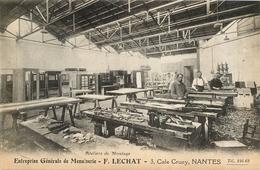 NANTES ENTREPRISE GENERALE DE MENUISERIE F. LECHAT - Nantes