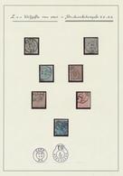 émission 1865 - Page De Collection : étude De Cachet P.P Et P.D. (Gand, Bruxelles) Sur N°17,18, 19 Et 20. A Examiner ! - 1865-1866 Profiel Links