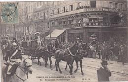 75 PARIS Boulevard Sebastopol,visite Du Lord Maire ,façade éditeur Cartes Postale Le Deley ,E L D ,attelage Carrosse - Arrondissement: 09