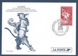 France Document - La Poste - Entier Postal - PERRAULT Le Chat Botté - 1997 - Entiers Postaux