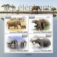 2020-02- TOGO -  ELEPHANTS         4V      MNH** - Elephants