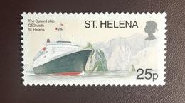 St Helena 2003 Tourism Ships MNH - Sainte-Hélène