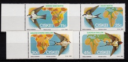 Ciskei - Migratory Birds UMM, 1984 - Ciskei