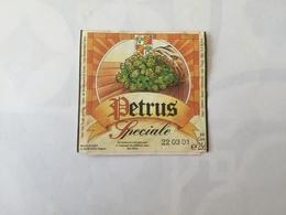 Ancienne étiquette B8 BIERE BELGE - PETRUS - SPECIALE - Bière