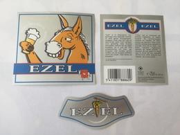 Ancienne étiquette B8 BIERE BELGE - EZEL - Bière