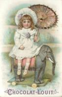 CHOCOLAT LOUIT- Enfants  ; Lot De 3 Chromos (format 10,5cm X 7cm) - Louit