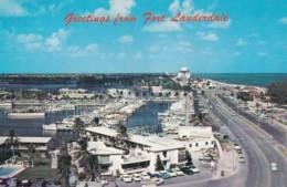 FORT LAUDERDALE - BAHIA MAR. WORLD LARGEST YACHT BASIN - Fort Lauderdale