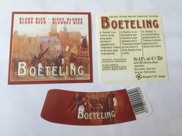 Ancienne étiquette B8 BIERE BELGE - BOETELING - BIERE BLONDE - Bière