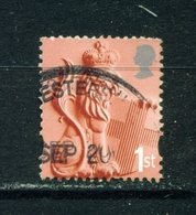 ENGLAND  -  2001 To 2003  Lion  1st  Used As Scan - Regional Issues