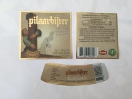 Ancienne étiquette B8 BIERE BELGE - PILAARBIJTER - BIERE TRIPLE - Bière
