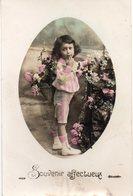 ENFANTS 971 : Fillette Avec Des Roses - Enfants